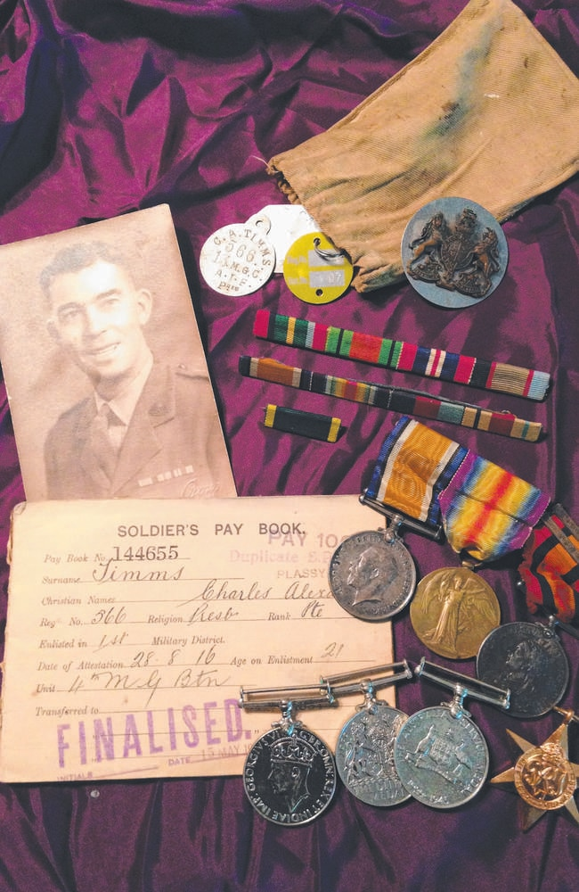 """From official records to an individual story ... Charlie Timms is one of the many thousands of soldiers being """"brought back to life"""" by the Australian War Stories project. Was your relative in the war?"""