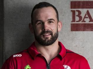 Queensland Reds signing Jono Lance. Photo by QRU/Brendan Hertel.