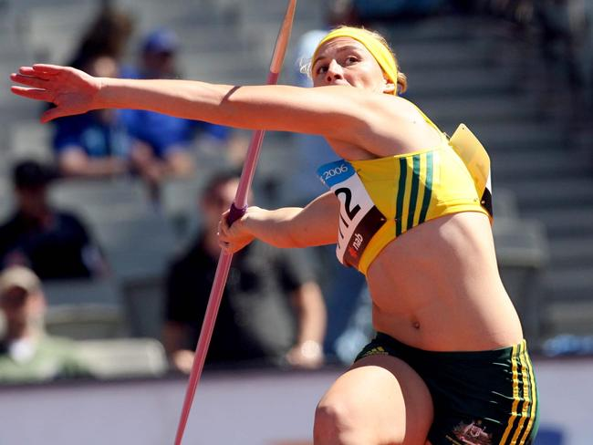 Mitchell at the Melbourne Commonwealth Games in 2006.