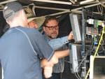 Russell Crowe stars and directs his first film The Water Diviner in a scene on Australia Plains. Picture: Mark Brake
