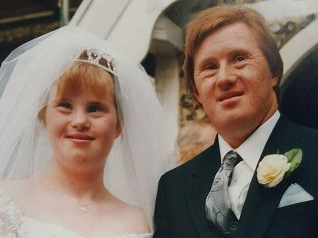 "Maryanne Pilling and Tommy Pilling have been ""blissfully"" married for almost 25 years. Picture: Facebook"