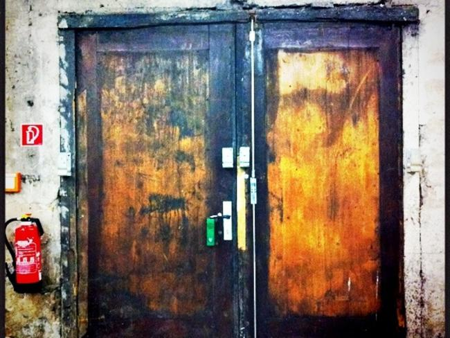 Few are able to get past these doors. Picture: Cara Courage