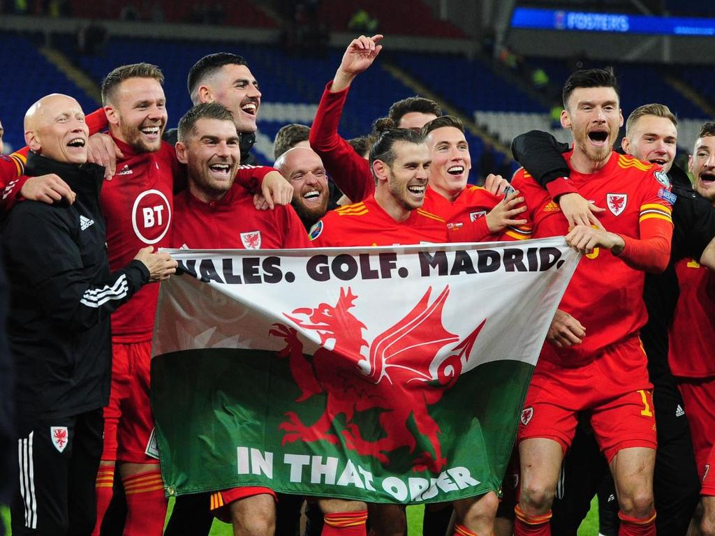 Wales. Golf. Madrid. IN THAT ORDER.