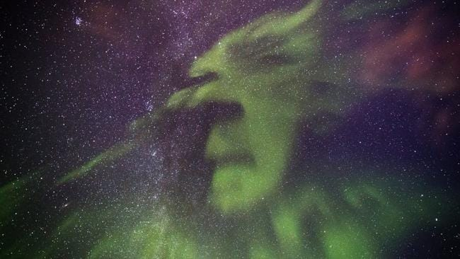 One image taken by Scottish snapper Graeme Whipps in Iceland was described as looking like the Grinch. Picture: SWNS