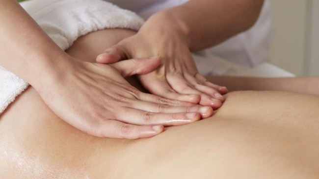 I'd done a massage course - how hard could it be? Image: iStock