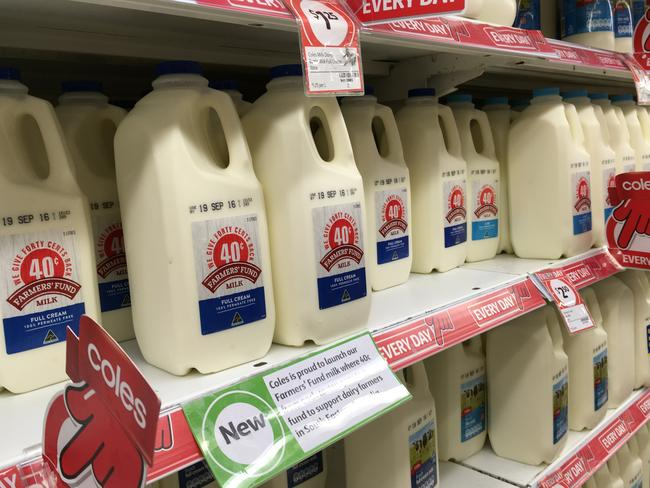 An inquiry by the ACCC showed that the retail price of milk is not to blame for the dairy industry crisis.