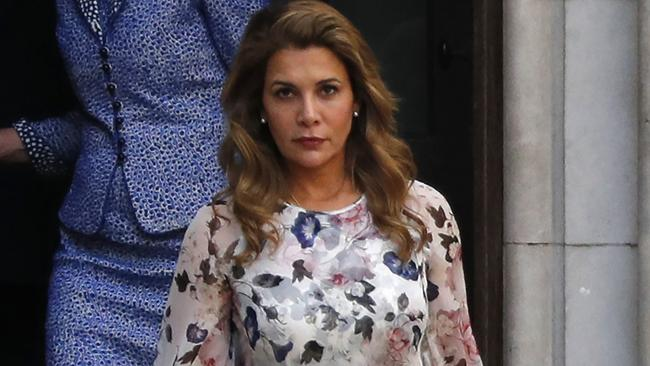 Princess Haya Bint al-Hussein has managed to escape her husband. Picture: Adrian Denis/AFP