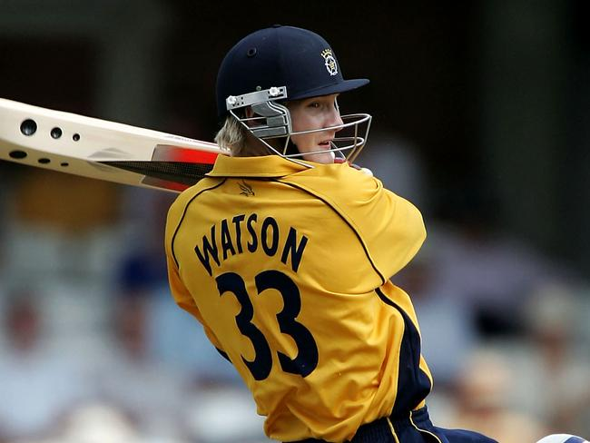 Shane Watson in his Hampshire days.
