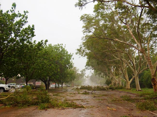 Cyclone Hilda wreaked havoc in Broome just weeks ago. Picture: Facebook