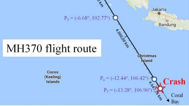 37d93066bee MH370 theory  New Christmas Island crash site plotted