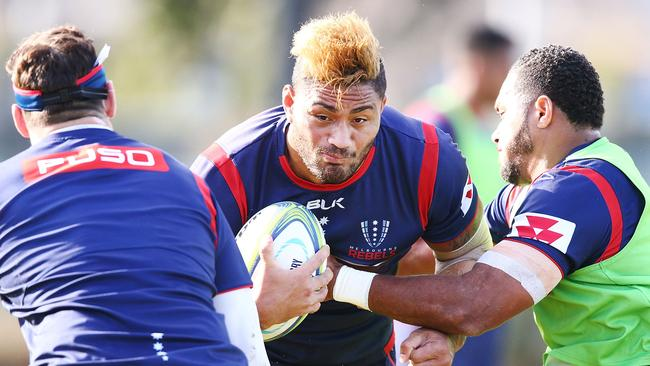 Amanaki Mafi faces a nervous wait after being charged with assault. Picture: Getty