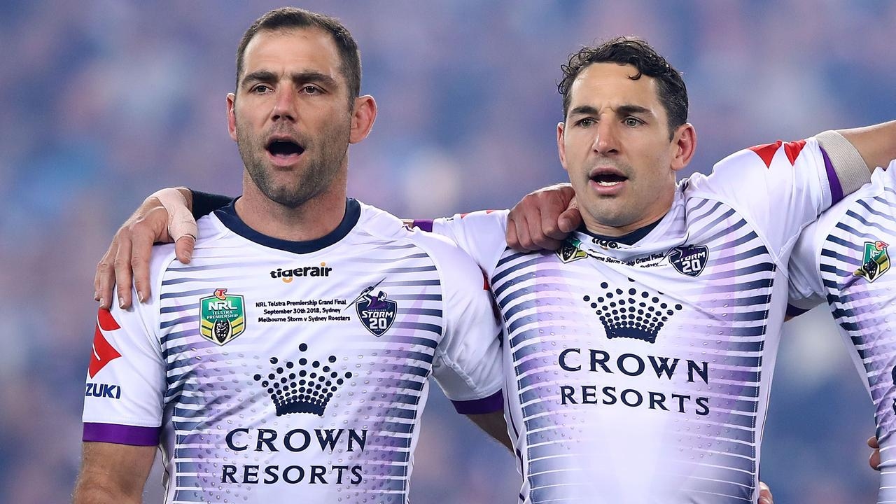 Billy Slater reveals heart-to-heart with Cameron Smith over Storm skipper's retirement call – Fox Sports