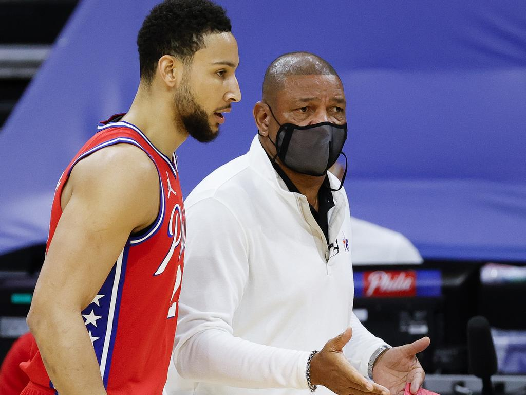 Doc Rivers backflipped on his Ben Simmons comments last week.