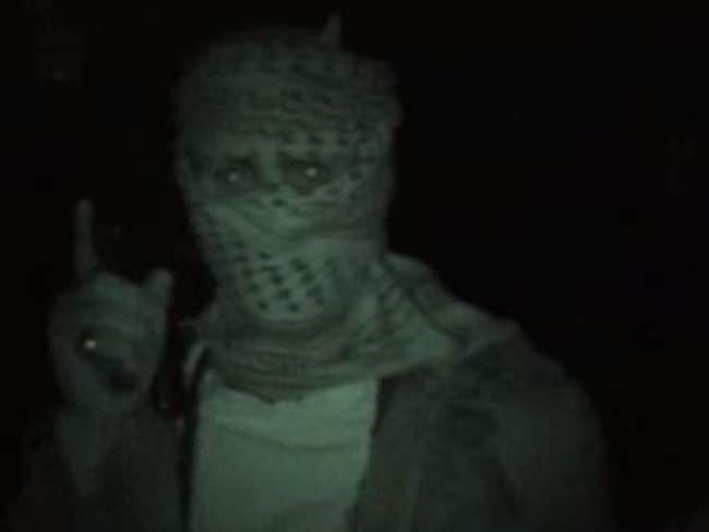 Footage of Iraqi insurgents filmed by Michael Ware in his documentary Only the Dead.