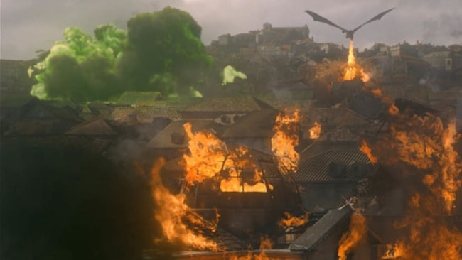 This does not bode well for Dany. Image: HBO
