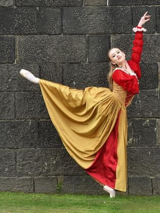 Dracula ballerina Olivia Grieve sinks her teeth into horror