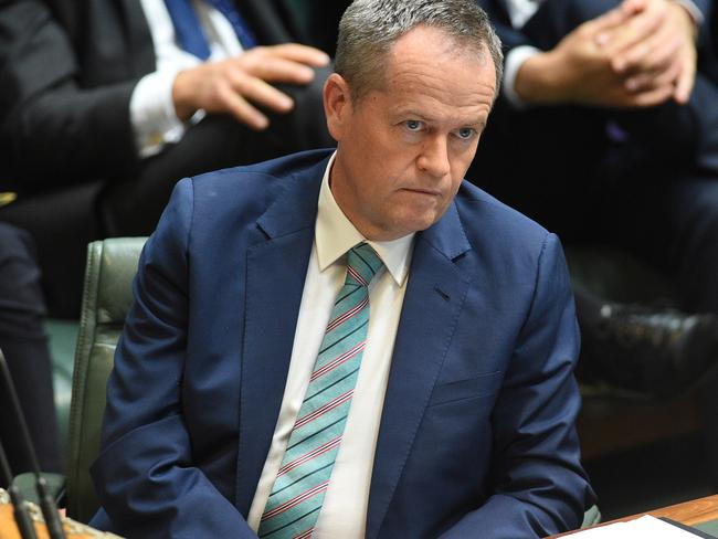Bill Shorten has been on the attack over Malcolm Turnbull's wealth. So far he's come up empty handed. Picture: Mick Tsikas / AAP