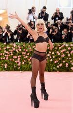 Lady Gaga attends The 2019 Met Gala Celebrating Camp: Notes on Fashion at Metropolitan Museum of Art on May 06, 2019 in New York City. (Photo by Jamie McCarthy/Getty Images)