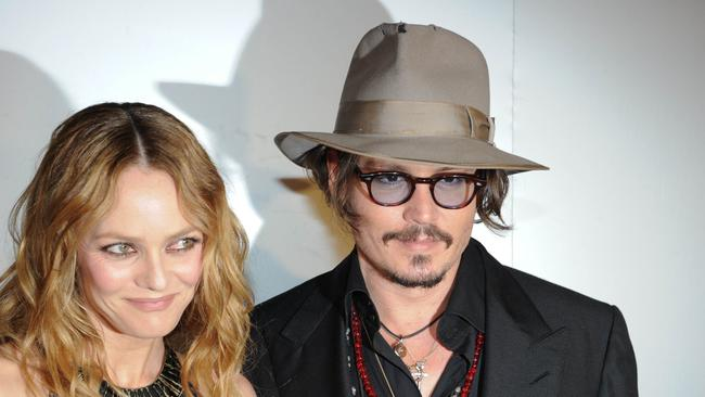 Split ... Depp was with Vanessa Paradis for 14 years, but the pair never married.