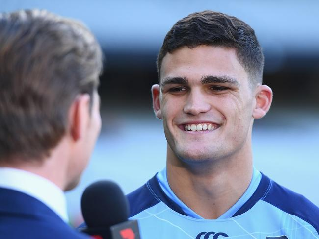 Nathan Cleary is the face of the Blues' future. (Photo by Quinn Rooney/Getty Images)