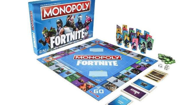 Players don't play for Monopoly money, this version is all about survival. Picture: Hasbro