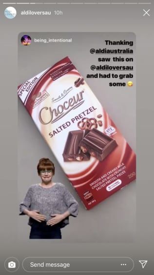 Social media has lit up over the sweet treat. Picture: Instagram