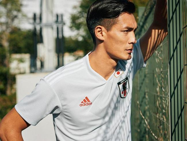 Japan's new World Cup away kit