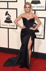 Carrie Underwood attends The 58th GRAMMY Awards at Staples Center on February 15, 2016 in Los Angeles. Picture: AP