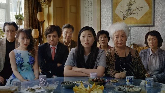 Scene from the movie The Farewell. Roadshow Films.