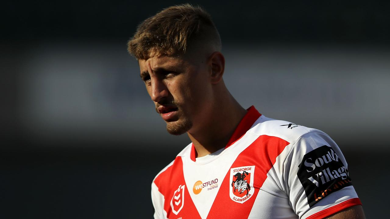 Zac Lomax can't get a run in NRL.