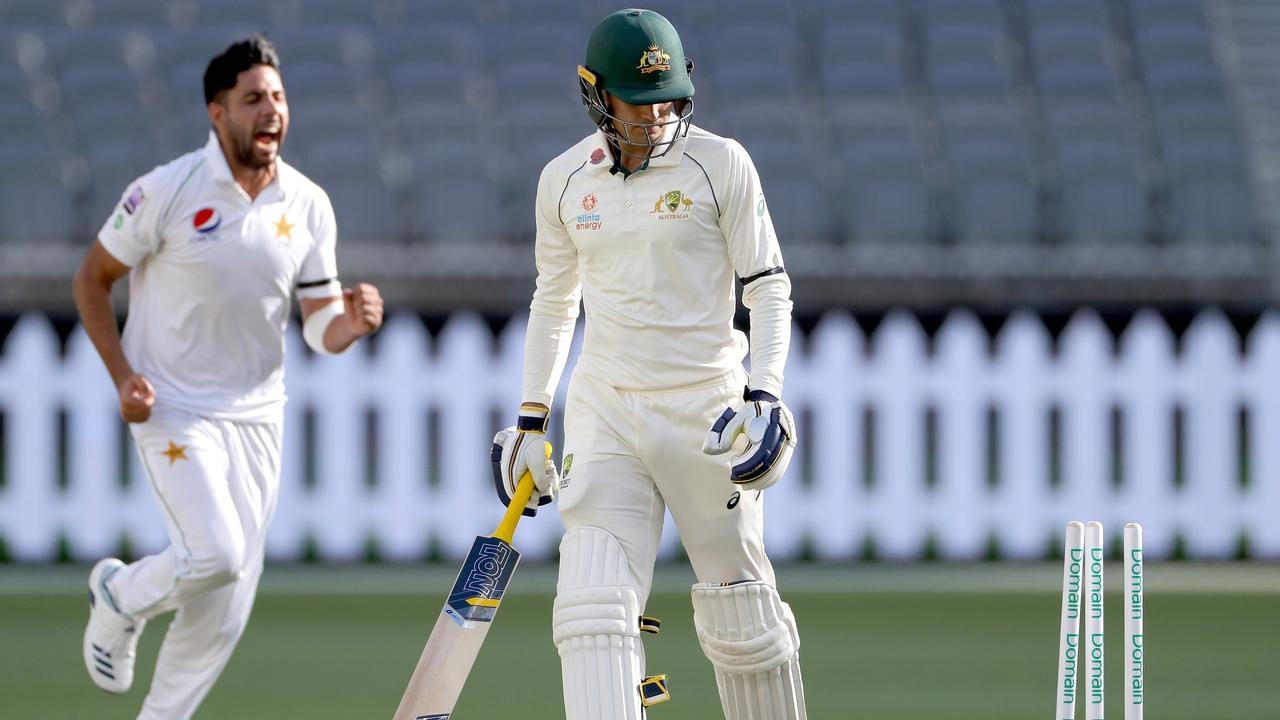 A star-studded Australia A side has been rolled in a calamitous tour match performance.