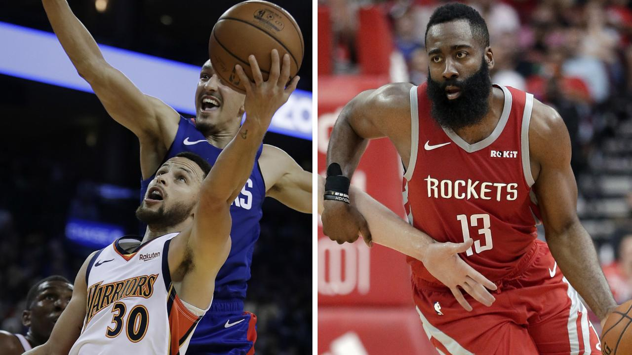 Stephen Curry and James Harden were among the big names to shine.