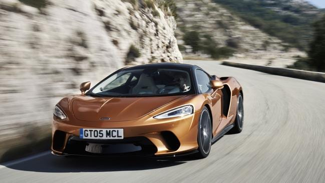 The GT has a softer edge than other McLarens — and it's more practical too. Picture: Supplied.