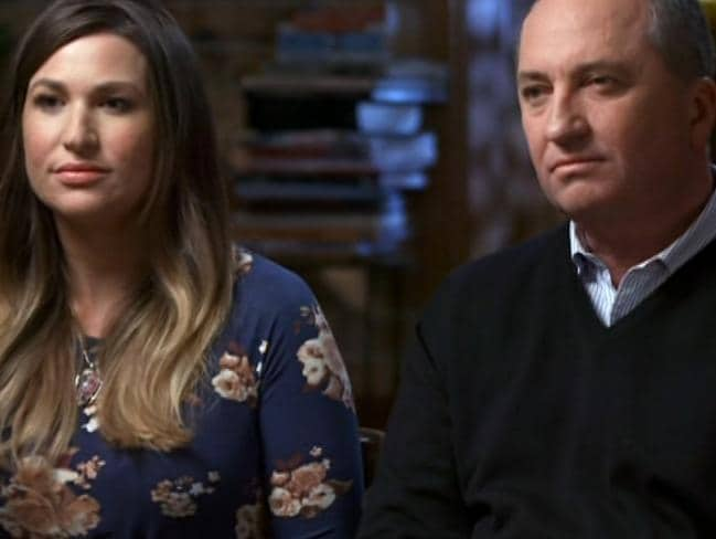 Barnaby Joyce has faced criticism for his tell-all interview with partner Vikki Campion on Channel 7's Sunday Night program. Credit: Channel 7