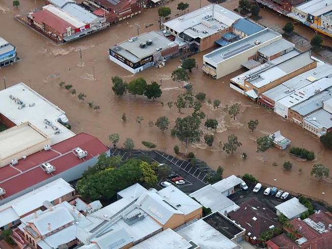 Leelo went missing when Lismore was devastated by floods in March last year after the area was hit by Cyclone Debbie. Picture: AFP Photo/Rotorwing Helicopters/Michael Barnes