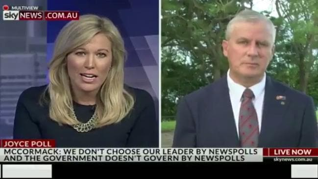 McCormack dodges questions on support for Joyce