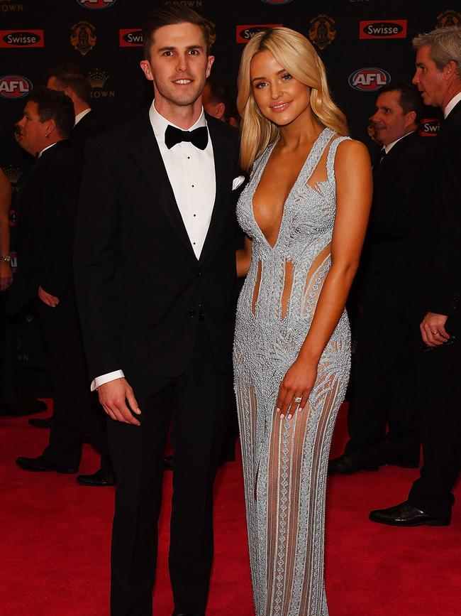 WAGs wow on Brownlow red carpet | Daily Telegraph