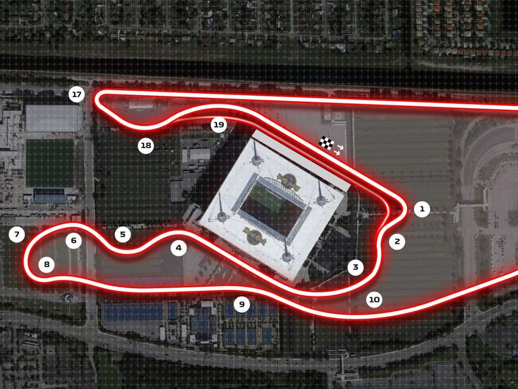 New track in Miami for F1