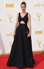 Amanda Peet attends the 67th Annual Primetime Emmy Awards in Los Angeles. Picture: Getty