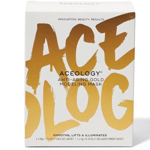 If the queen of face masks Martha Kalifatidis is a fan, you know the product is doing something right. Picture: Aceology