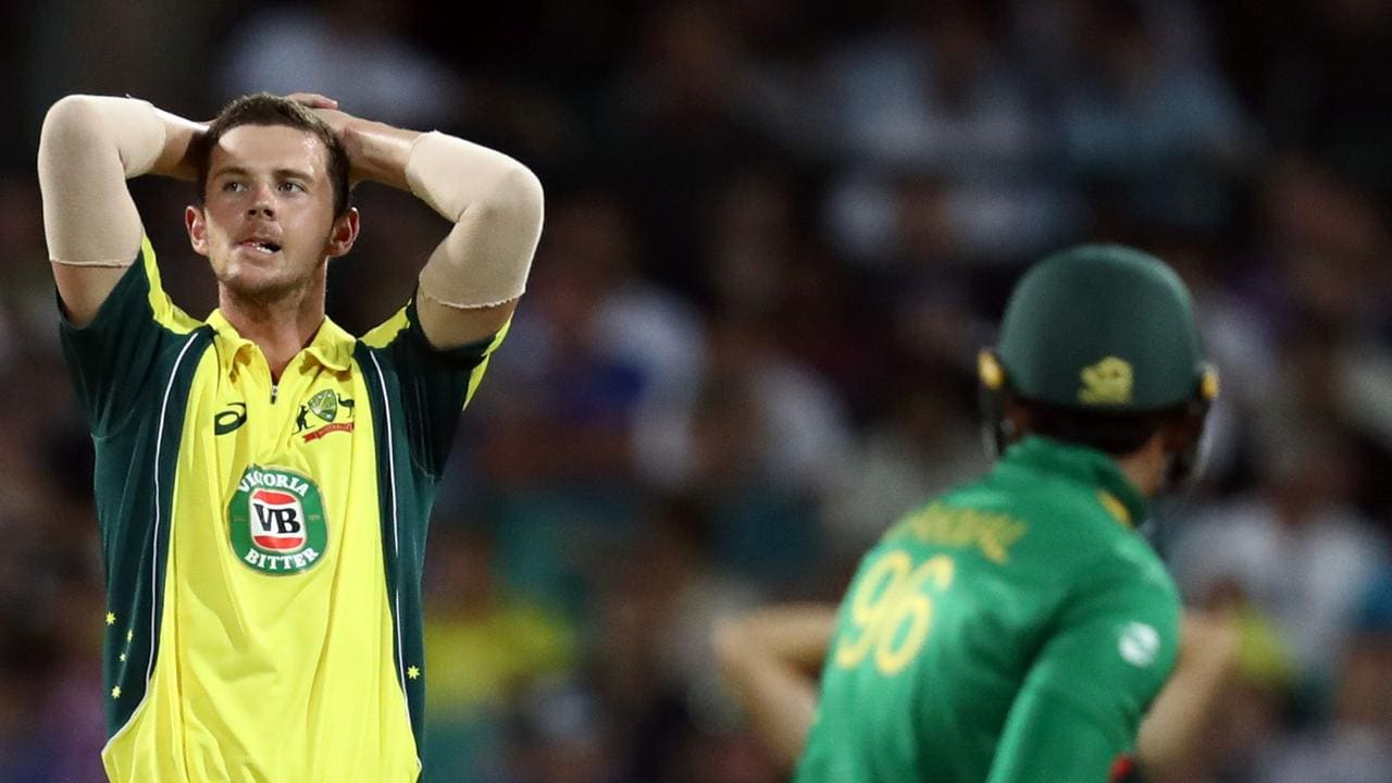 Josh Hazlewood is expected to miss the World Cup.