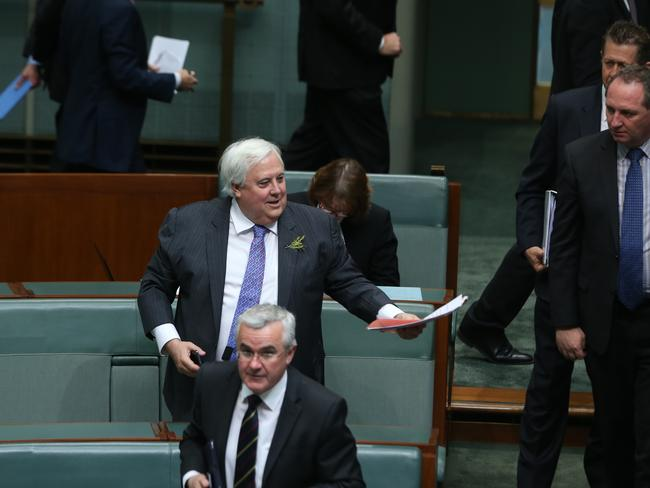 Alliance ... PUP leader Clive Palmer. Picture: Gary Ramage