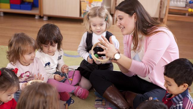 Funding cuts ... Australian parents could be forced to pay more for early childhood education. Picture: Supplied