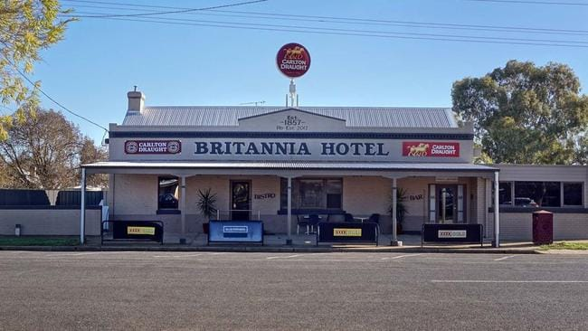 Britannia Hotel is for sale in Carisbrook.