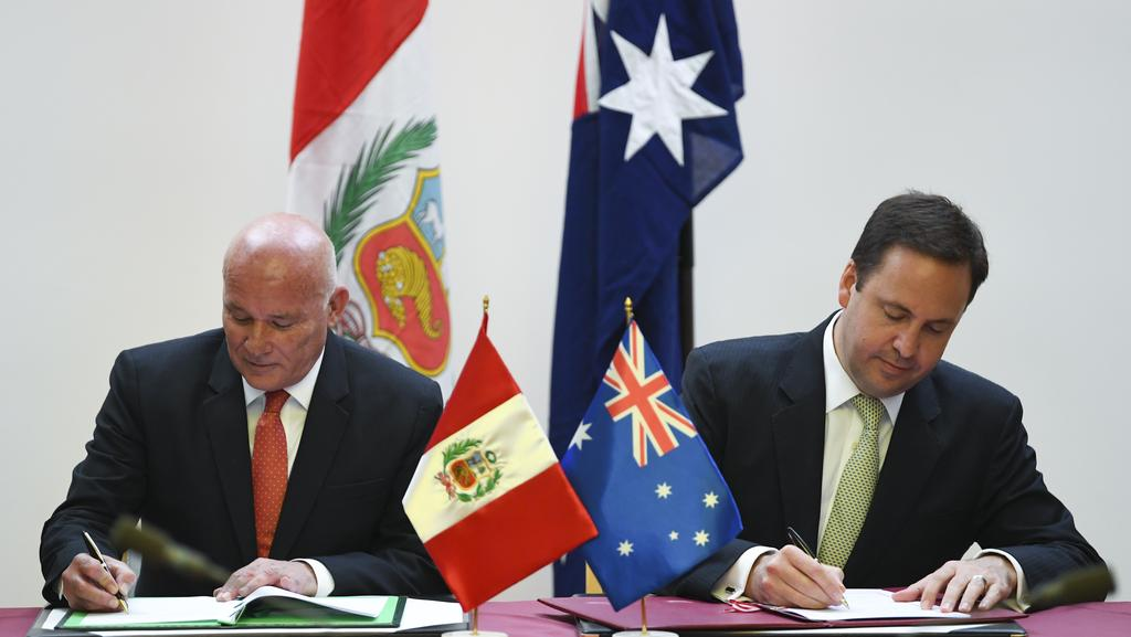 Australia Signs Historic Free Trade Agreement With Peru The Weekly