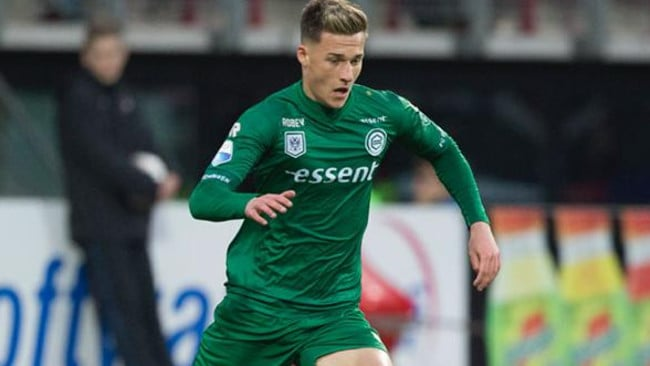 Australian youngster Ajdin Hrustic. Picture: FC Groningen.