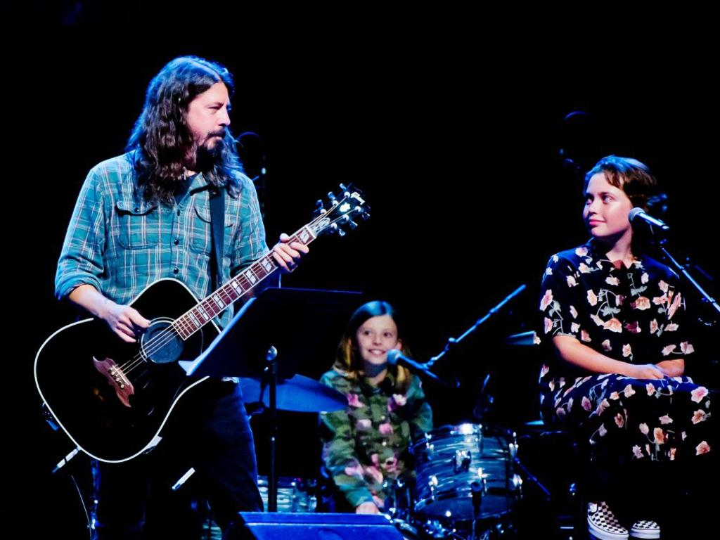 Dave Grohl's daughters inspire his epic new instrumental PLAY