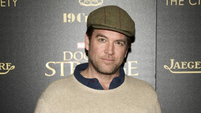 "FILE - In this Nov. 1, 2016 file photo, Michael Weatherly attends a special screening of ""Doctor Strange"" at AMC Empire 25 in New York. Picture: Andy Kropa/Invision/AP, File"