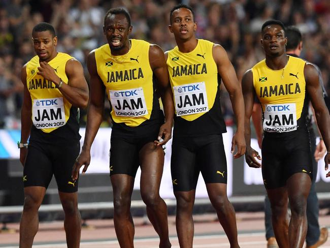 Bolt's teammates have nothing but respect for him.