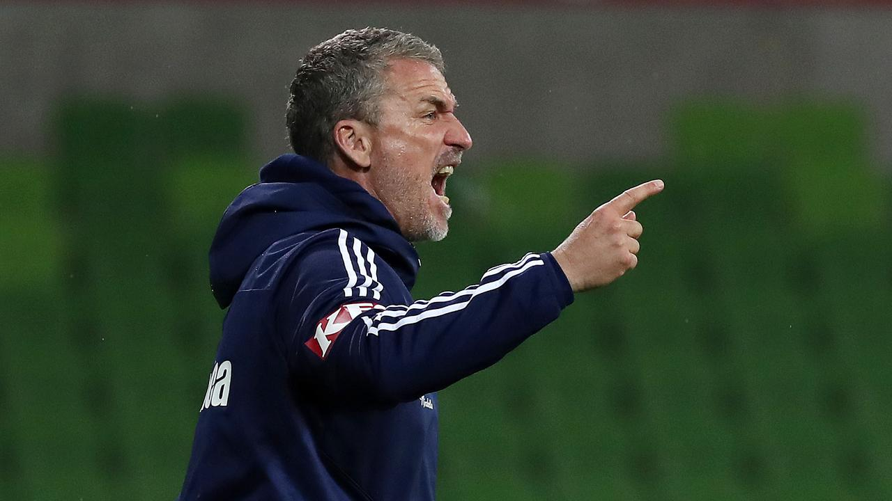 Marco Kurz has been sacked as Melbourne Victory manager.